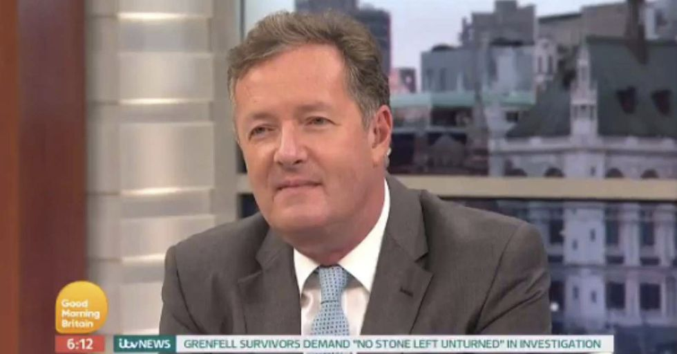 After A Hypocritical Comment, Piers Morgan Gets Roasted By His Coworkers On The Air