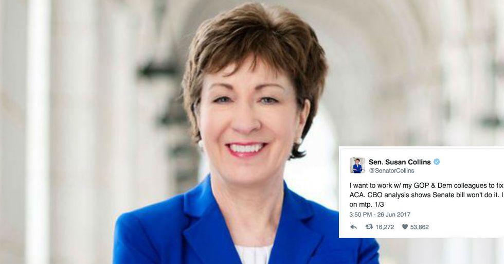 Republican Senator Comes Out Against Party's Health Care Bill