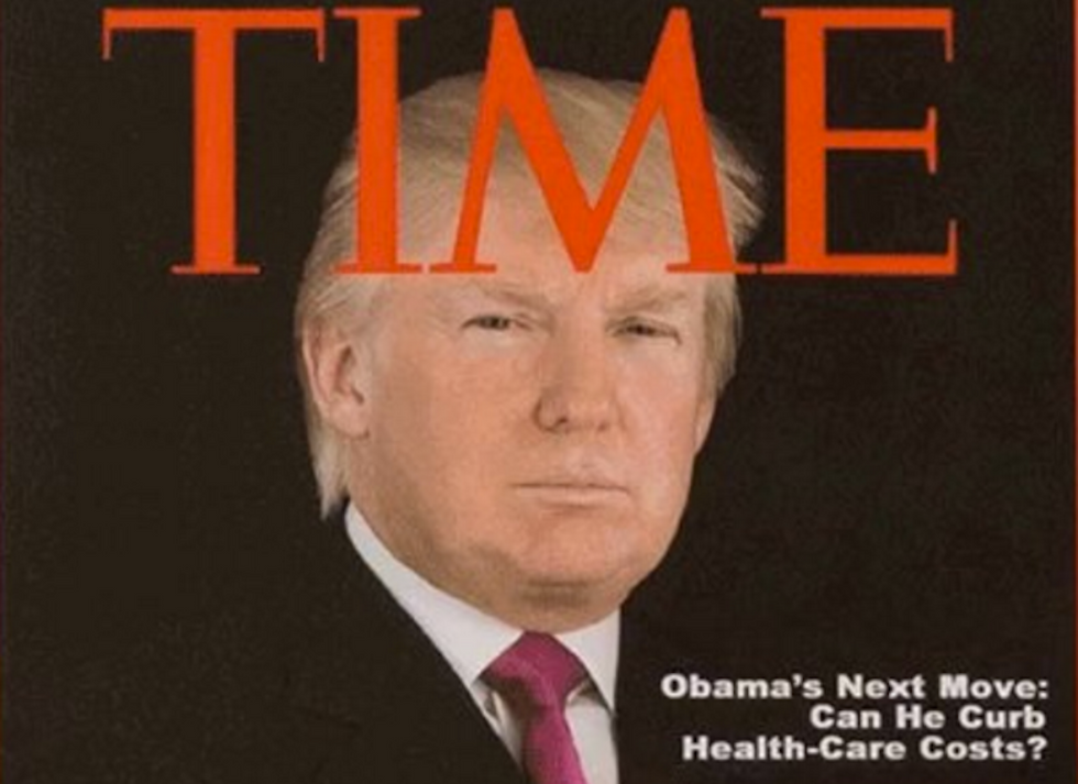 The Ironic Timing Of Trump's Fake Time Cover