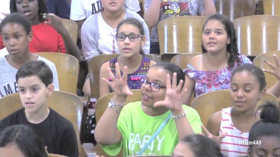 This World-Famous Public School Choir Just Made Lin-Manuel Miranda Cry