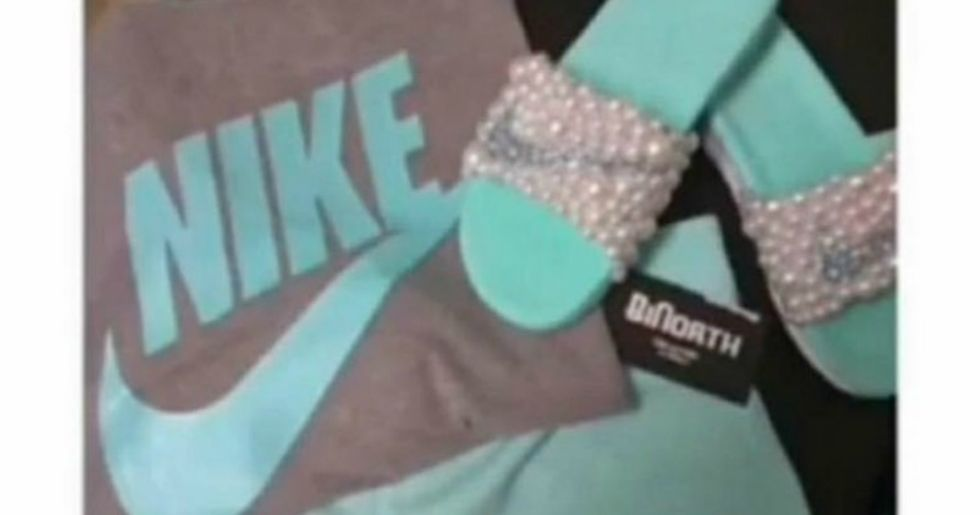 This Picture Of Nike Clothing Has Viewers Rabidly Taking Sides Over What They See