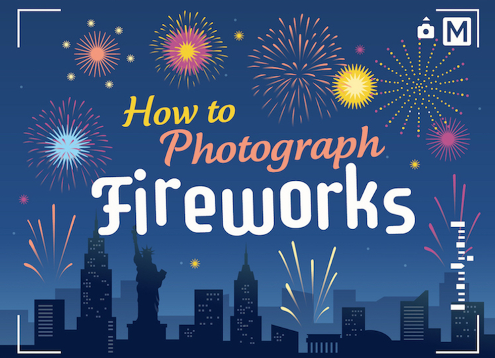 Here's How To Take Amazing Fireworks Photos This Fourth Of July