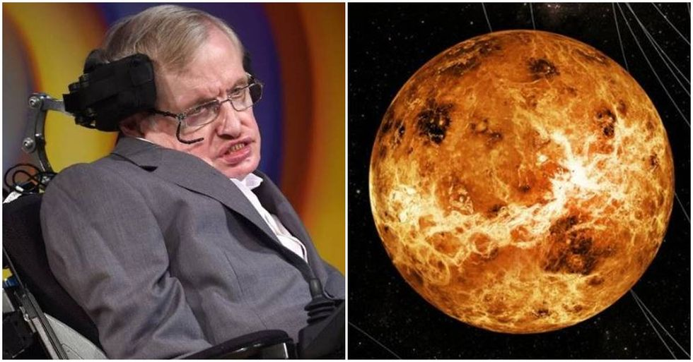 Stephen Hawking Says Trump's Climate Policies Could Turn Earth Into Venus