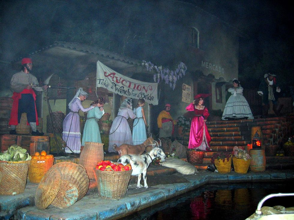 Disney Ditches Controversial Wench Auction On Pirates Of The Caribbean Ride