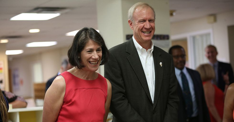The Illinois Budget Crisis Has Publicly Pitted The Governor Against His Wife