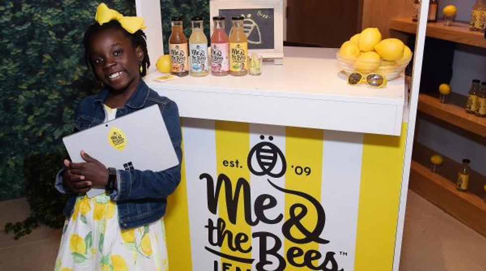 Why NFLers Are Investing Big Money In This 12-Year-Old's Lemonade Company