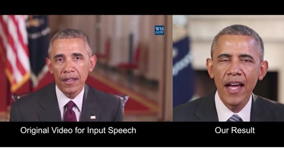 This Advanced Lip-Synching Technology Could Be A Huge Obstacle In Fighting Fake News