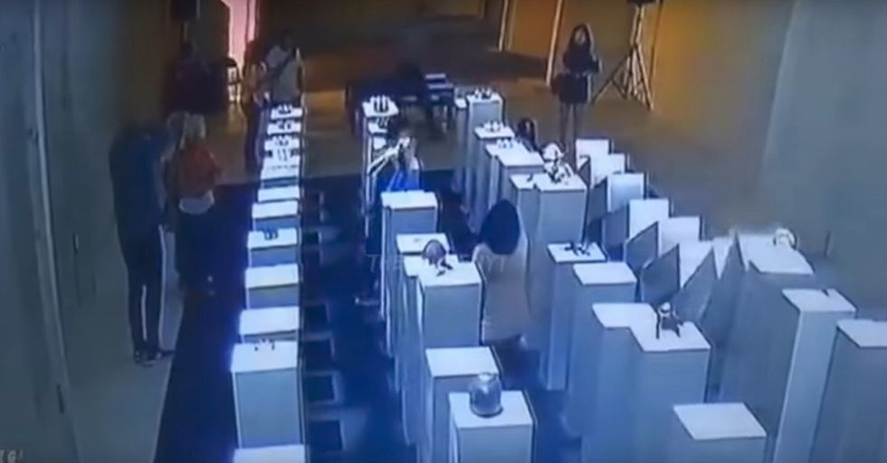 Woman Destroys $200,000 Worth Of Art Trying To Take A Selfie