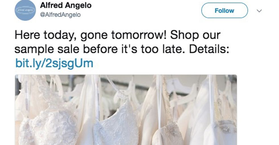 The Sudden Closure Of A Bridal Chain Leaves Thousands Of Brides-To-Be Panicking