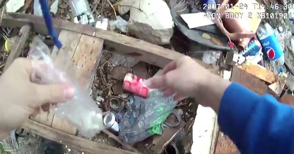 Body Camera Footage Captures A Baltimore Officer Allegedly Planting Drugs