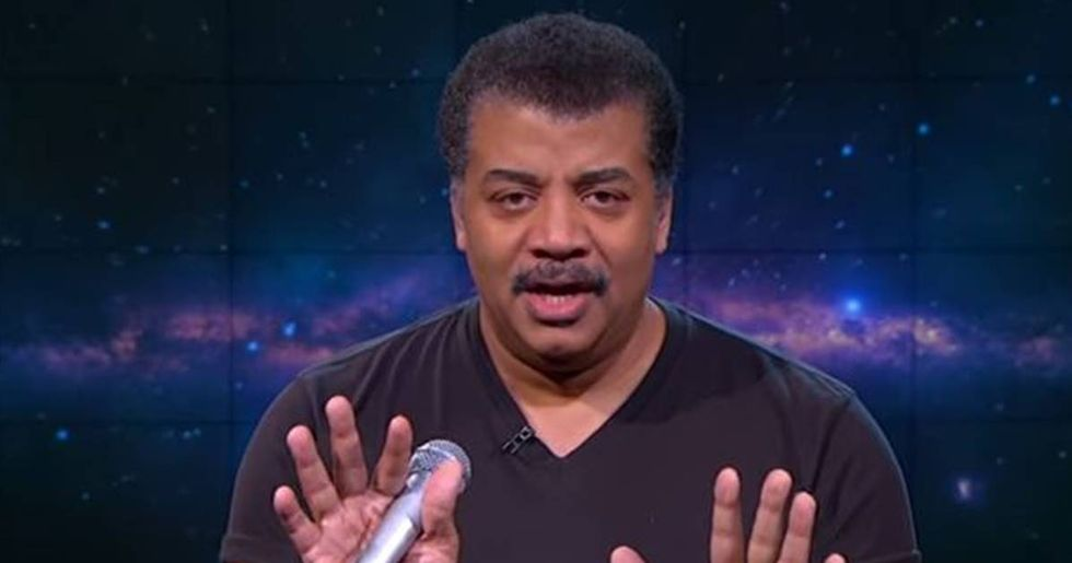 Neil DeGrasse Tyson Blames The U.S. Education System For The Flat-Earth Movement