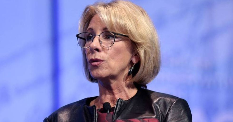 20 Attorneys General Fight Betsy DeVos's Attempt To Restrict Campus Sexual Assault Protections