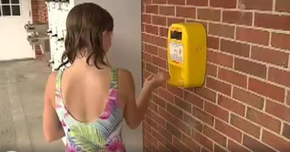 Teen Raises Money To Install Free Sunscreen Dispensers At Local Pools