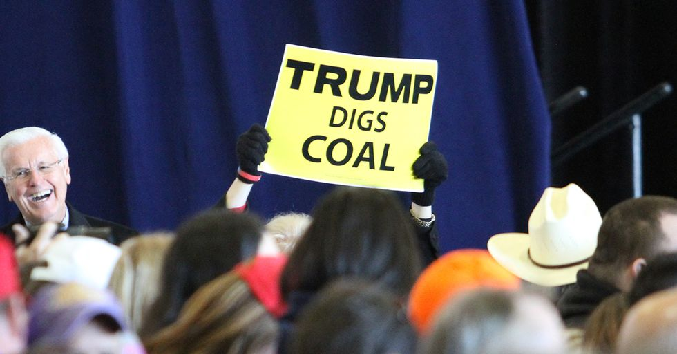 Trump Just Said He Created 45,000 New Mining Jobs With No Evidence To Support The Claim