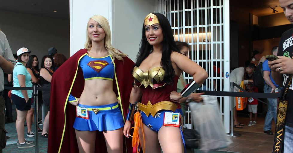 In Spite Of 'Wonder Woman' Success, Comics Are Still Plagued By Sexism,A Study Reveals