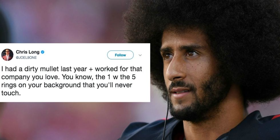 An NFL Star Defended Colin Kaepernick — And His Afro — In 3 Awesome Tweets