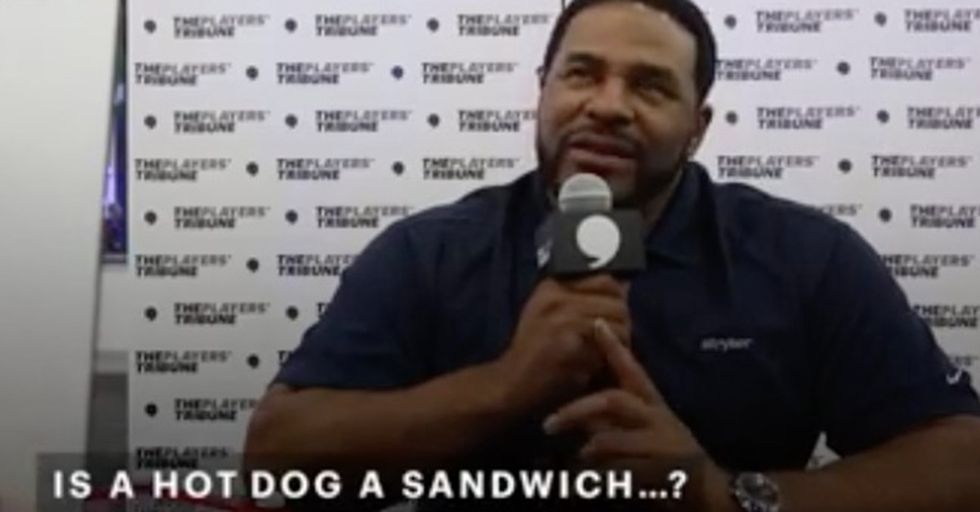 Athletes And Ballparks Weigh In On The 'Is A Hot Dog A Sandwich' Controversy