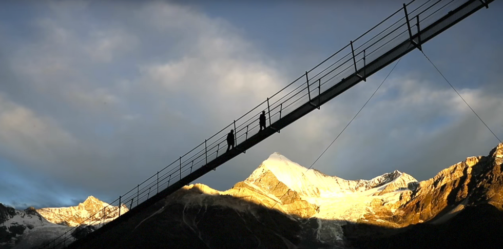 World's Longest Pedestrian Suspension Bridge Is Both Awesome And Terrifying