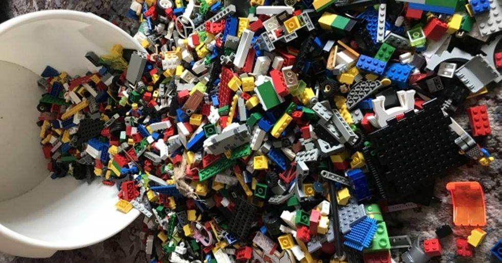12-Year-Old Kid's 'Minimalist' Lego Sculpture Goes Viral