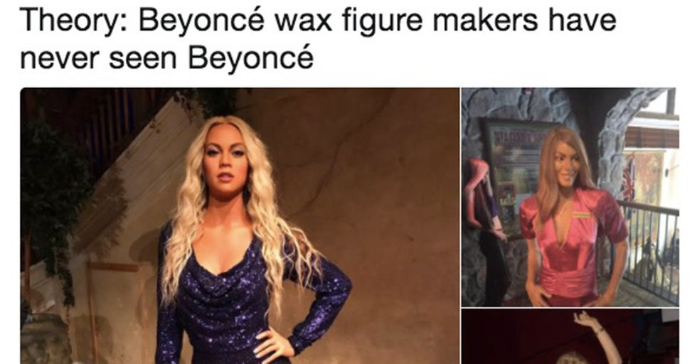 That Creepy Beyoncé Wax Statue Has Been (Slightly) Improved Following Widespread Criticism