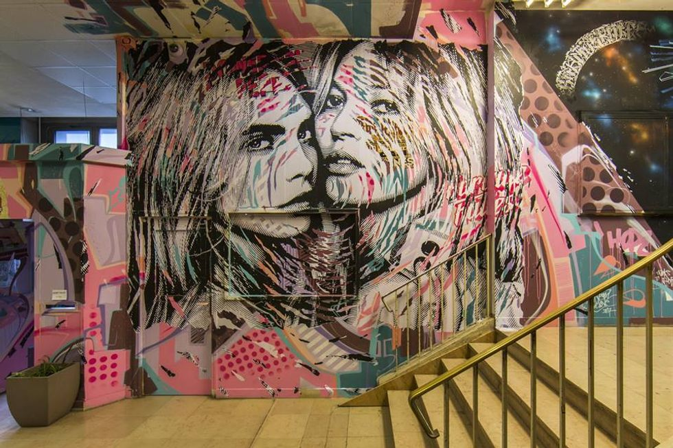 Graffiti Artists Turned This School Dormitory Into A Work Of Art