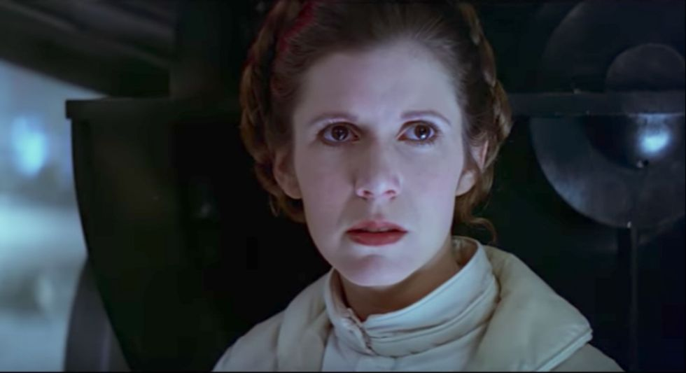 Move Over, 'Princess' —Leia Organa, Ph.D., Is Here