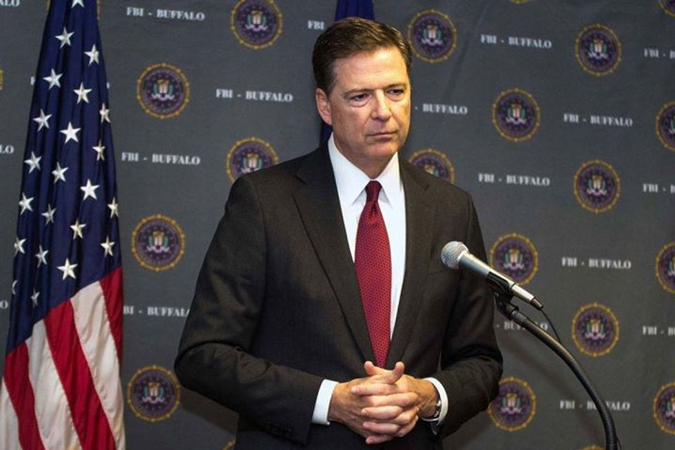 Why FBI Director James Comey Says He's 'Mildly Nauseous'