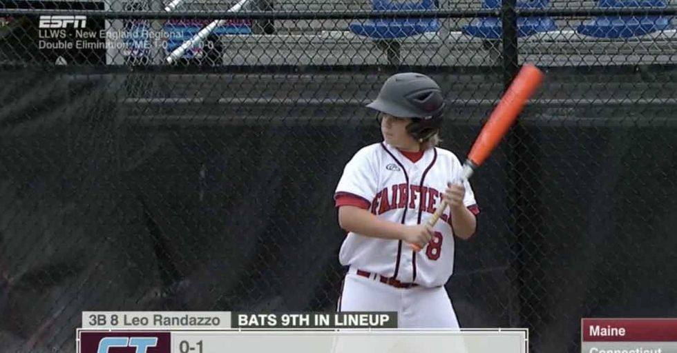 Little League World Series Player Has A Curious Pre-Game Ritual