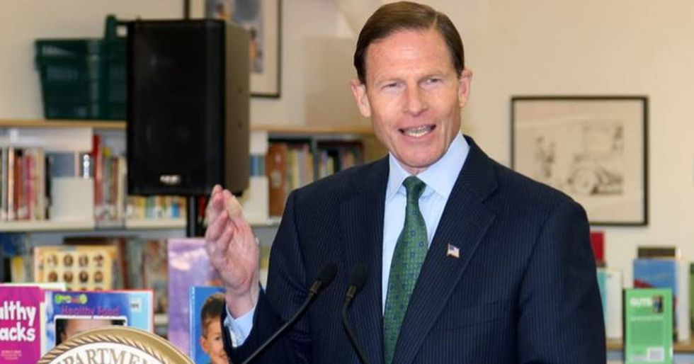 Sen. Richard Blumenthal Stands Up To Trump's Twitter 'Bullying' Over His Military Service