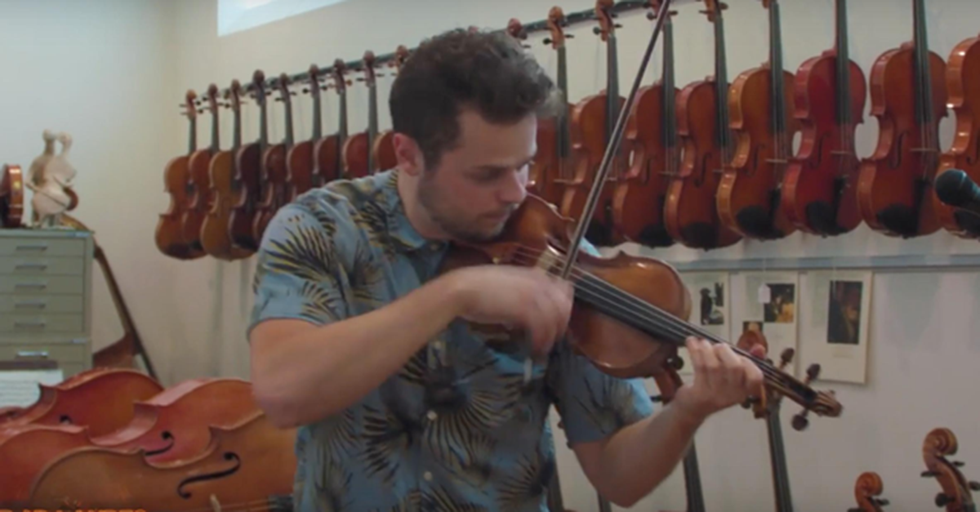 Can You Tell The Difference Between A $60 Violin And A $285,000 Violin?