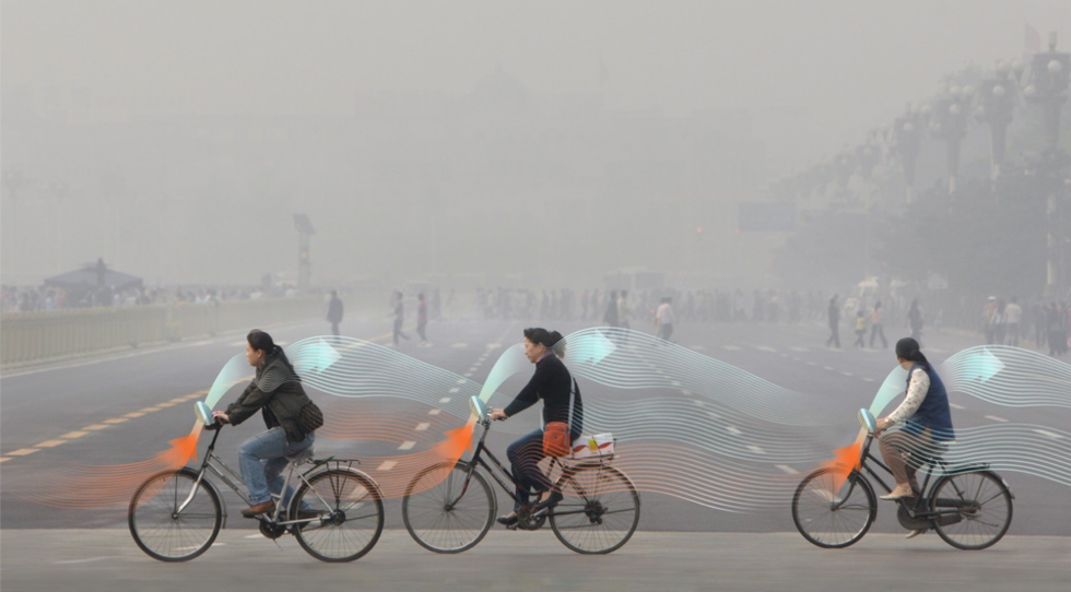 Smog-Eating Bikes Are About To Take On Beijing