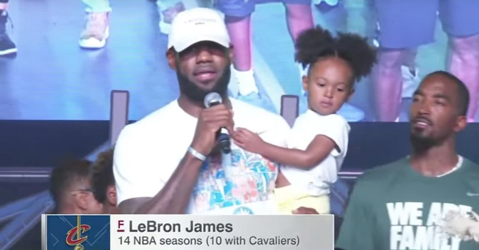 LeBron James Calls For Love And Change Following Charlottesville
