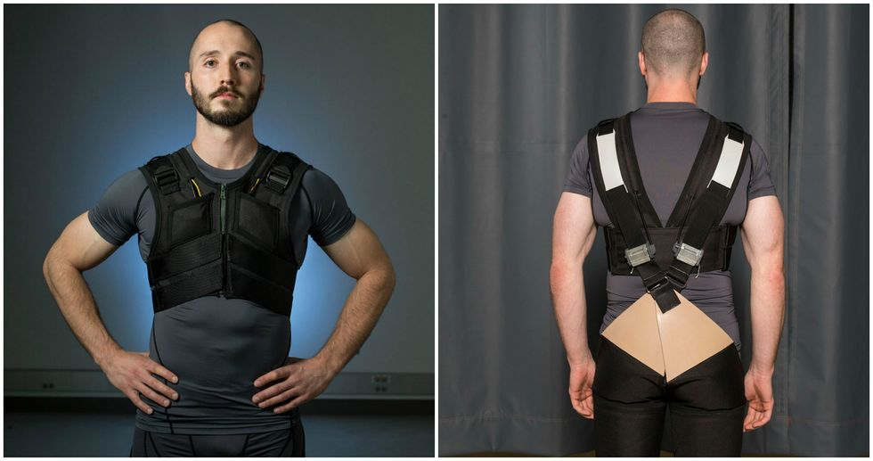 A Mechanical Engineer Invented Super-Powered Underwear That Might Actually Save The Day (From Back Pain)