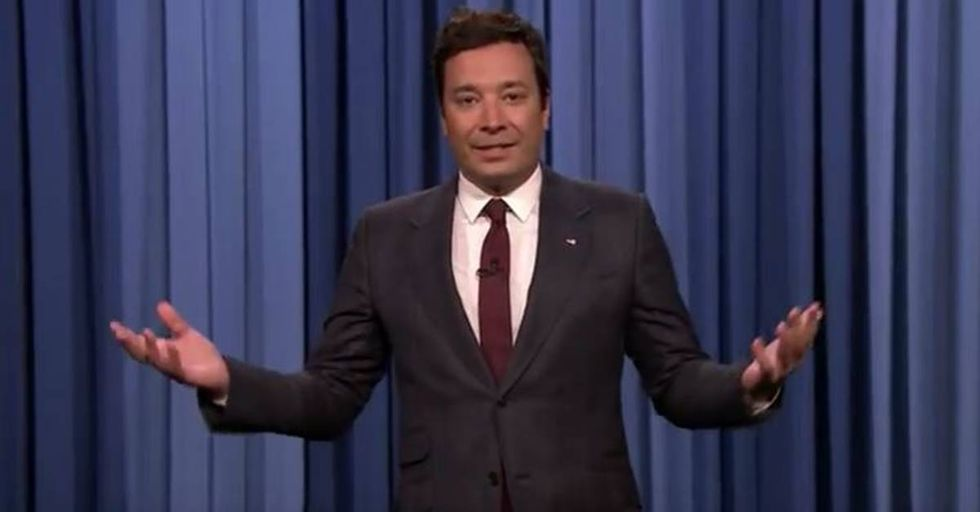 'Tonight Show' Host Jimmy Fallon Speaks Out About Trump And Charlottesville