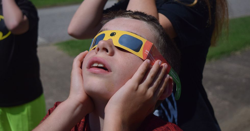 Now That The Eclipse Is Over, You Can Put Those Glasses To Good Use For Others
