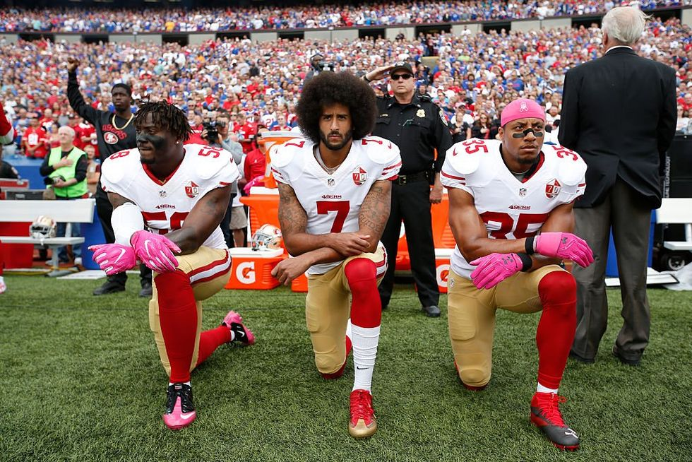 Even Without Kaepernick, NFL Players Continue To Take A Knee