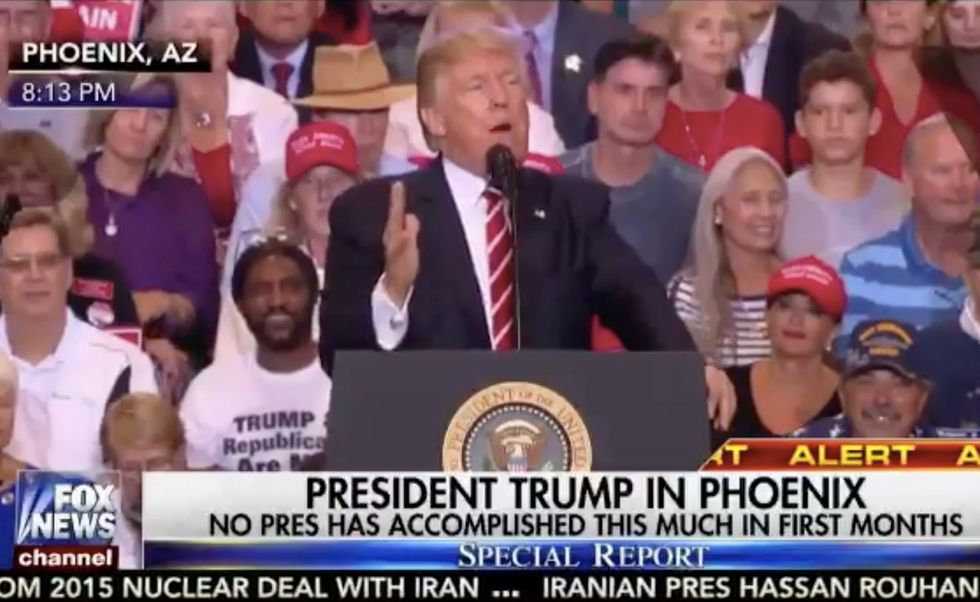During His Phoenix Speech, It Became Painfully Clear Donald Trump Doesn't Know What 'Clean Coal' Means