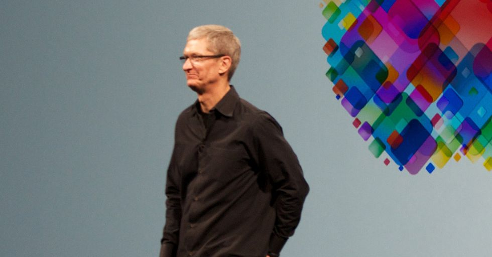 Tim Cook, Critical Of Trump's Response To Charlottesville, Pledges $2MM To Fight Hate