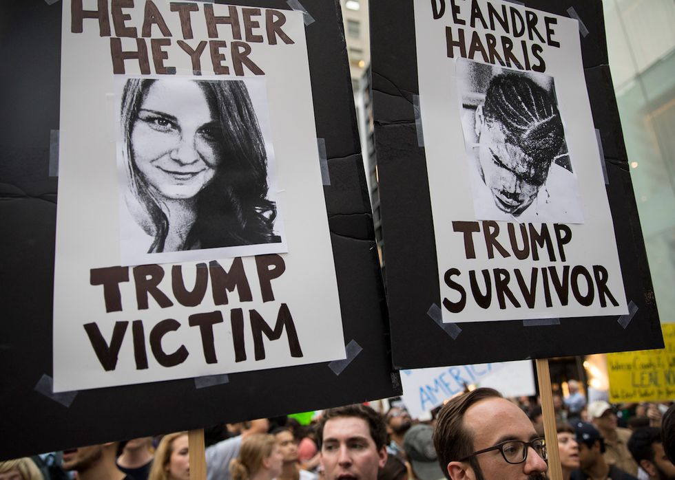 From Charlottesville To Athens, People Around The World Mourn Heather Heyer