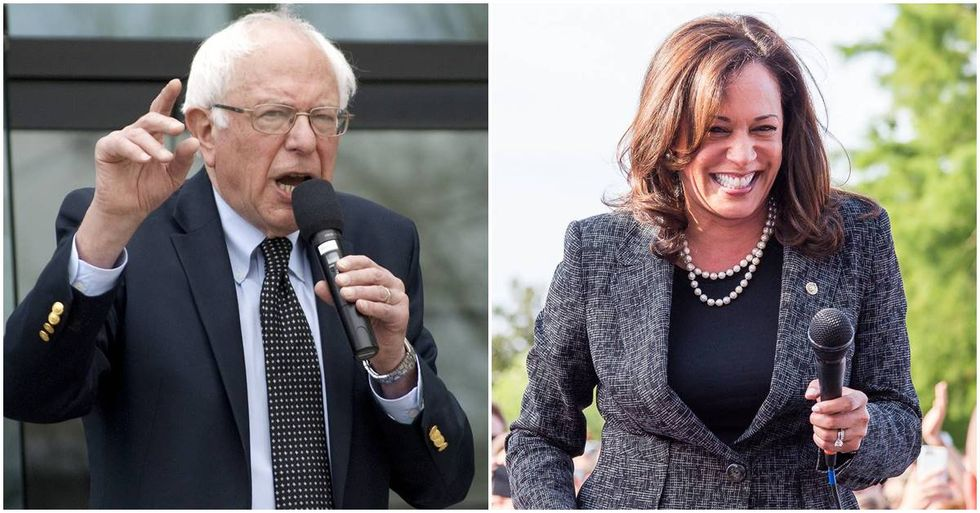 Sen. Kamala Harris Co-Sponsors Bernie Sanders' Single-Payer Health Care Bill