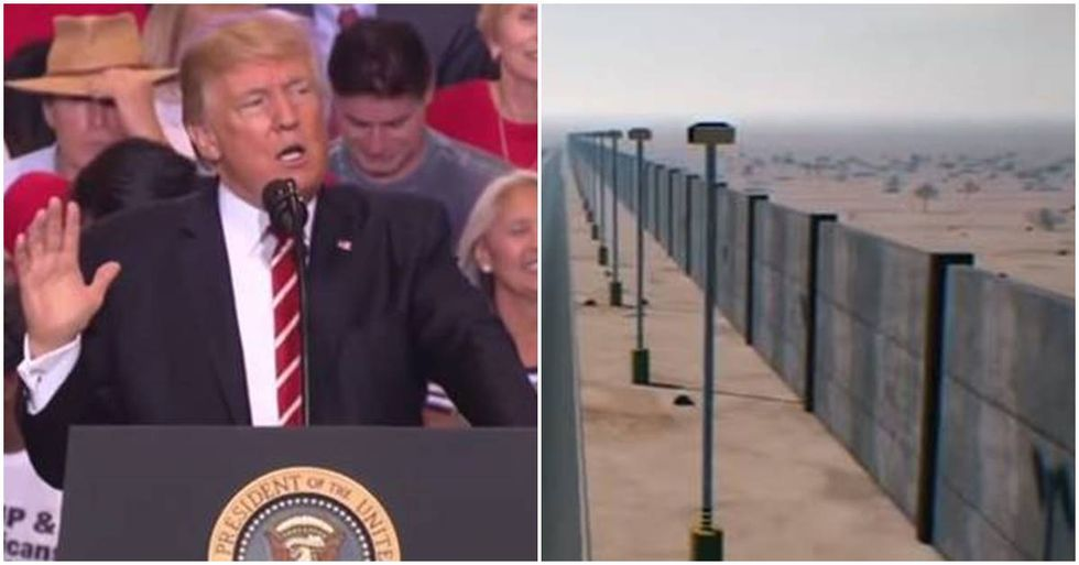 Mexico Won't Pay For Trump's Wall But Pledges To Help Harvey Relief Efforts