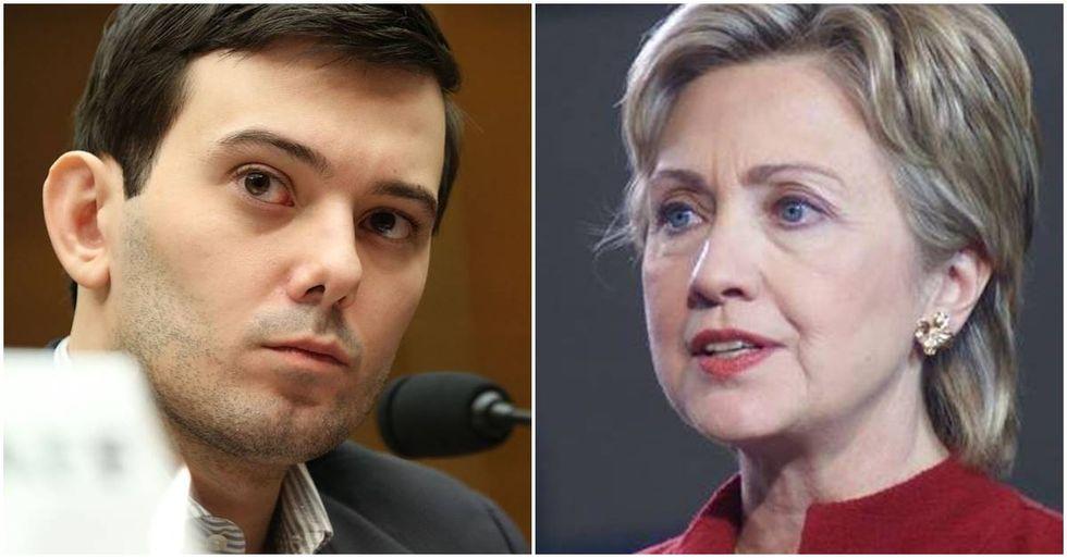Prosecutors Want 'Pharma Bro' Martin Shkreli's Bail Revoked For Threatening Hillary Clinton