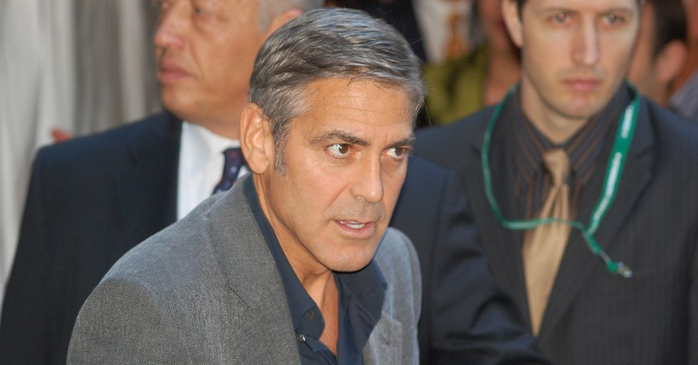George Clooney Explained To The Press Why He Has Every Right To Voice His Political Opinions