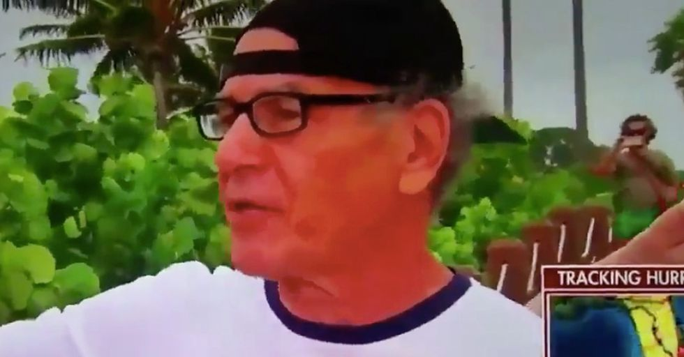 Reporter Tries To Incite Panic During A Live Interview, Gets Schooled On Hurricanes Instead