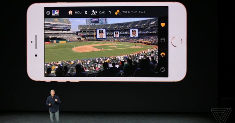 This Is How The iPhone 8's AR Features Could Immediately Change The Way We Watch Sports