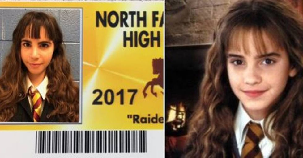 Detroit-Area High School Allows Its Seniors To Dress Up For Their ID Photos, And The Results Are Hilarious