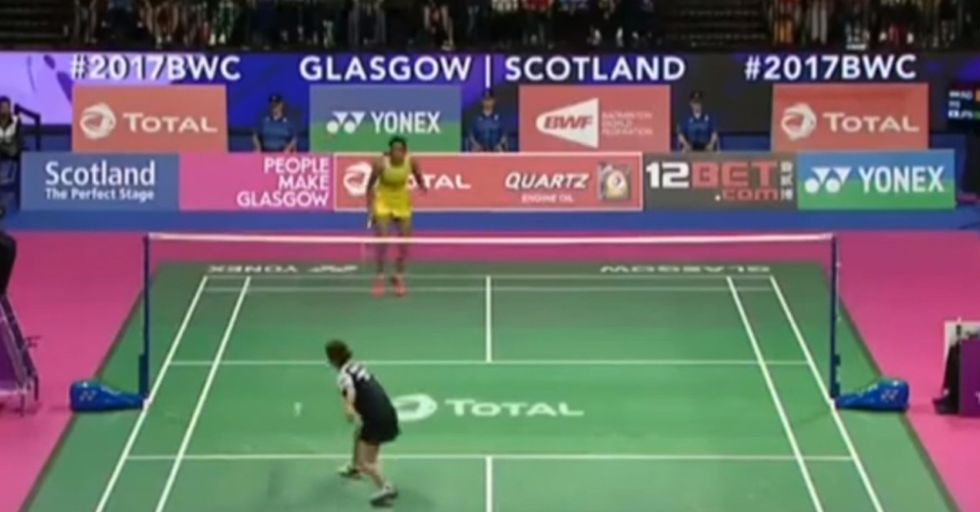 This 73-Shot Badminton Rally Might Be The Most Impressive Athletic Display You See This Year