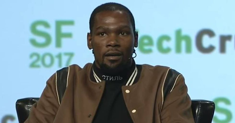 Kevin Durant Pretty Much Admitted To Using A Fake Twitter Account To Criticize His Old Team
