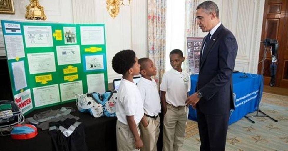 Barack Obama Surprises Hundreds Of STEM Students With An Inspiring Message