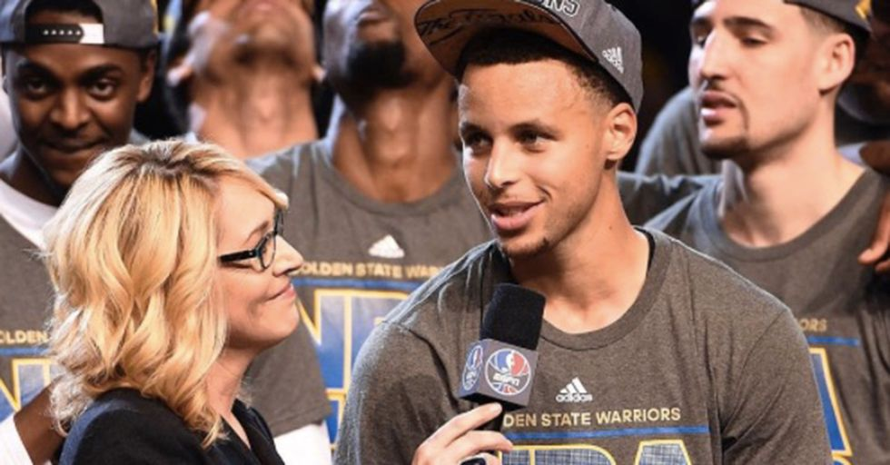 ESPN's Doris Burke Is The First Woman To Become A Full-Time National NBA Analyst